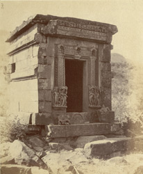 General view of the Jain Temple of Pataini Devi, Pithaora